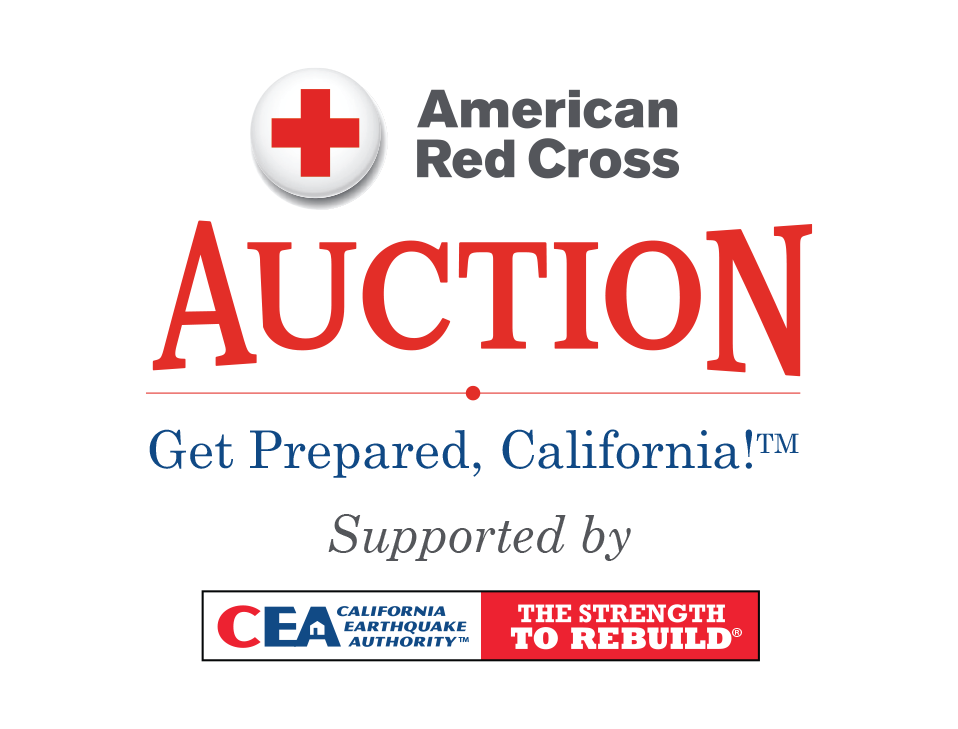 American Red Cross Get Prepared California Auction